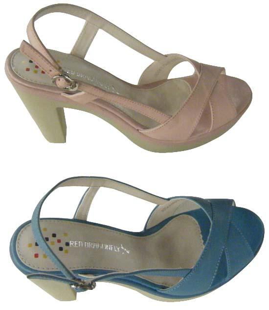 红蜻蜓女凉鞋