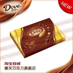 德芙巧克力 德芙精心之选 礼盒装 320g