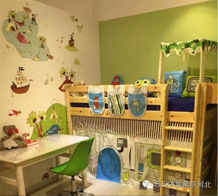 松木儿童家具特点及发展