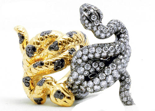 高级珠宝里的动物世界