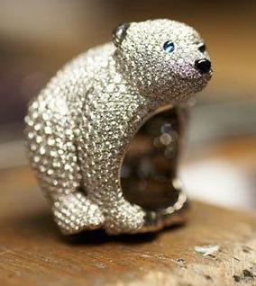 童趣中的奢华 萧邦动物系列珠宝