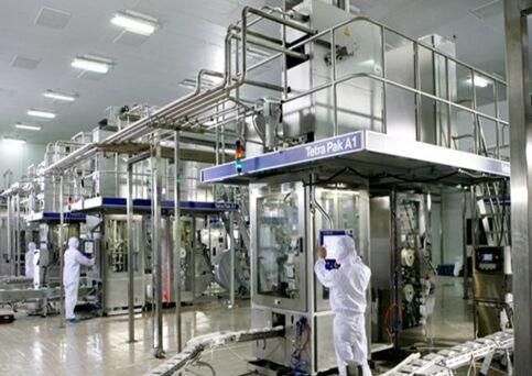 辉山牛奶加工厂图片